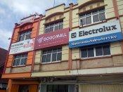 Neon Box Gogo Mall Makassar ukuran 5 x 2 M di. Jl. AP. Pettarani