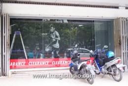 Stiker Wallpaper Neymar Display Produk toko pesanan dri Jakarta