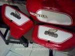 Sticker Tangki dan Kap samping Motor Honri alias Honda Riolo (Jadul)