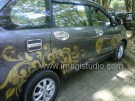 Striping Mobil Motif Batik