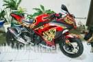 Stiker motor makassar