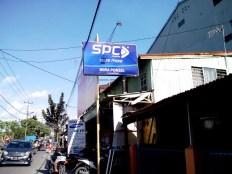 Billboard SPC Mobile di Wira Cell jl muh Yamin Makassar