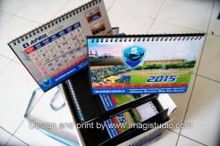 cetak Kalender Meja Skadron 5