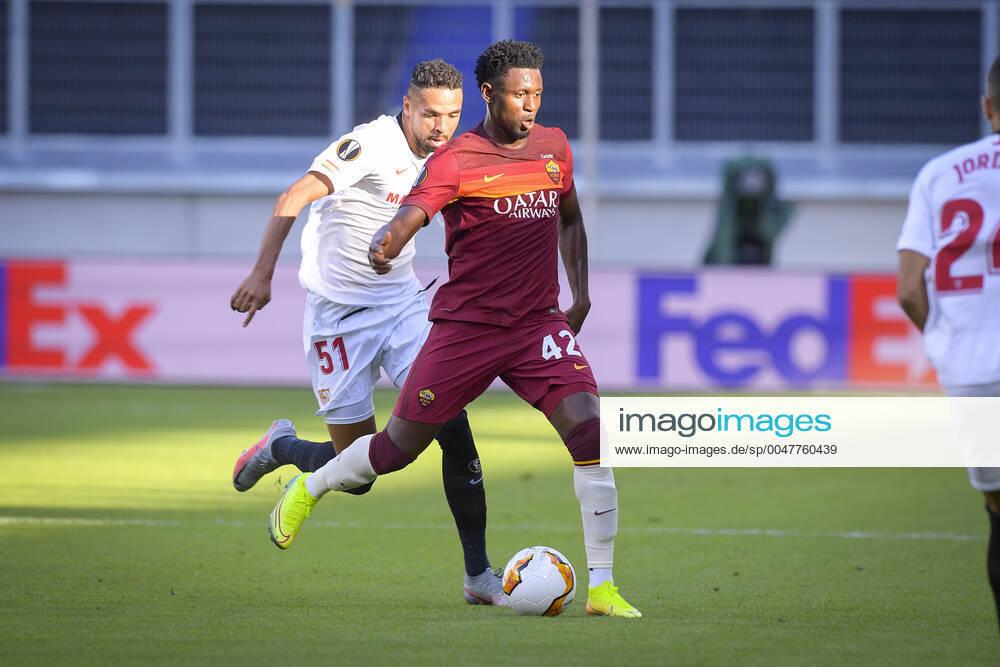 Roma-Siviglia : Photo Fabio Rossi As Roma Lapresse 06 08 2020 Duisburg D Soccer Siviglia Roma Europa League 2019 2020