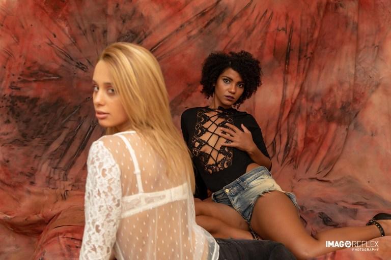 Nairoby Duran e Laura Manzan