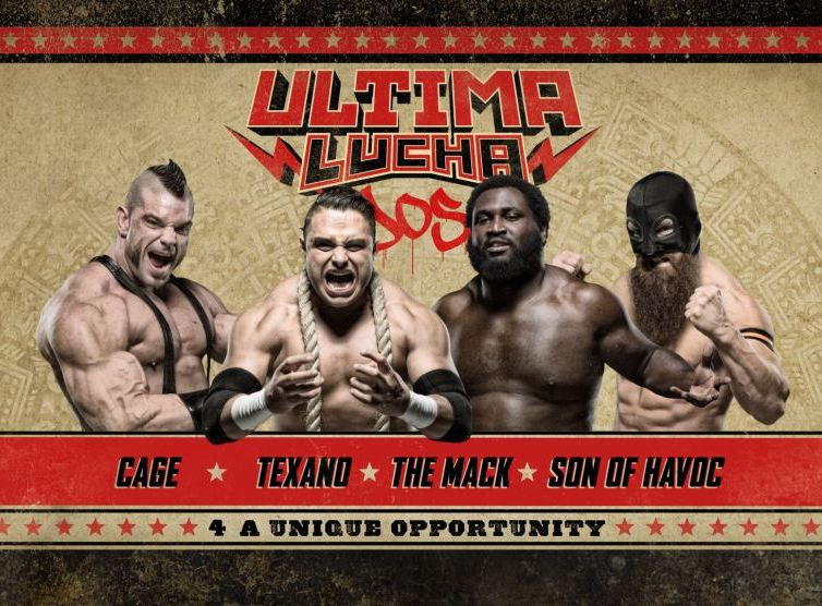"""25 Matches that Defined 2016 #9 – """"4 a Unique Opportunity"""" – Lucha Underground Ultima Lucha Dos"""