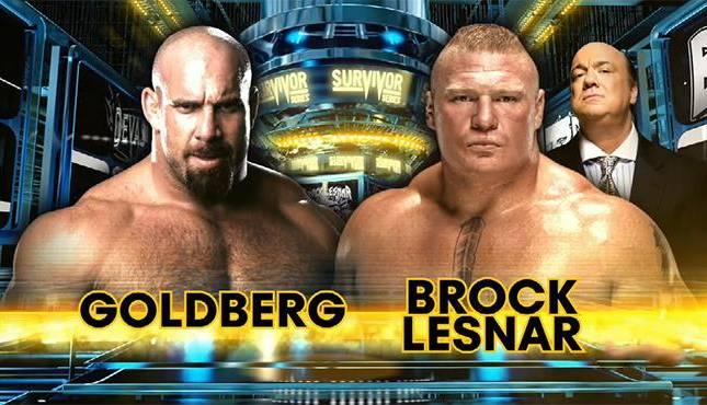 25 Matches That Defined 2016 #1 – Goldberg vs. Brock Lesnar – Survivor Series 2016