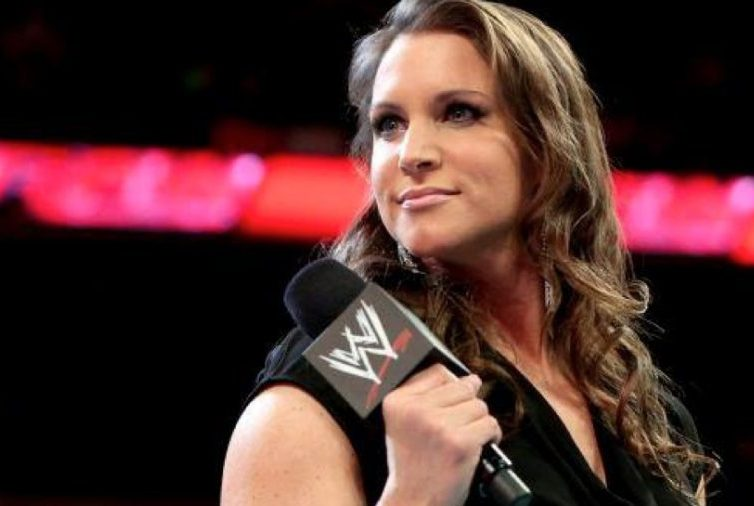 Stephanie McMahon looking terrifying