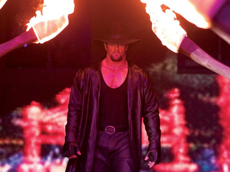 The Undertaker at WrestleMania 20