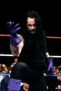 Undertaker in his early Deadman gear