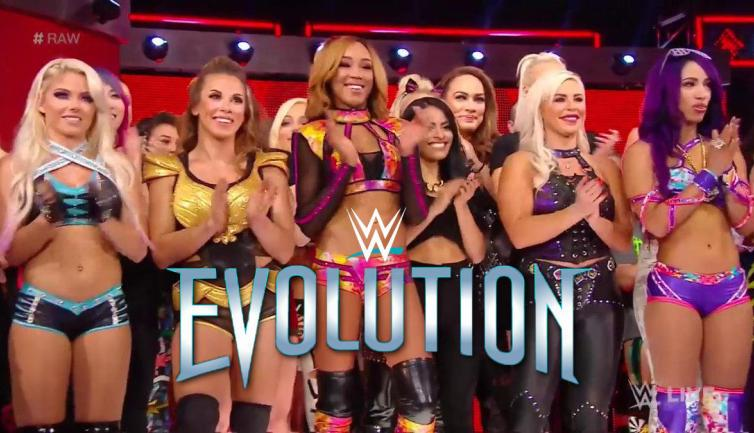 WWE's women find out about the all-female pay-per-view Evolution