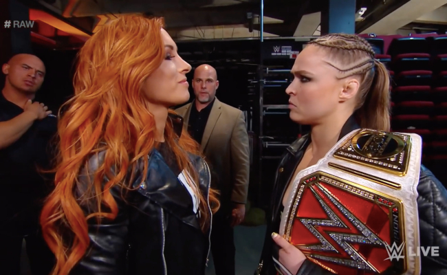 Becky Lynch, Ronda Rousey & The Kayfabe Conundrum