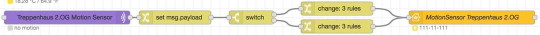 Node-Red: Philips-Hue Motion-Sensor an Home-Kit anbinden