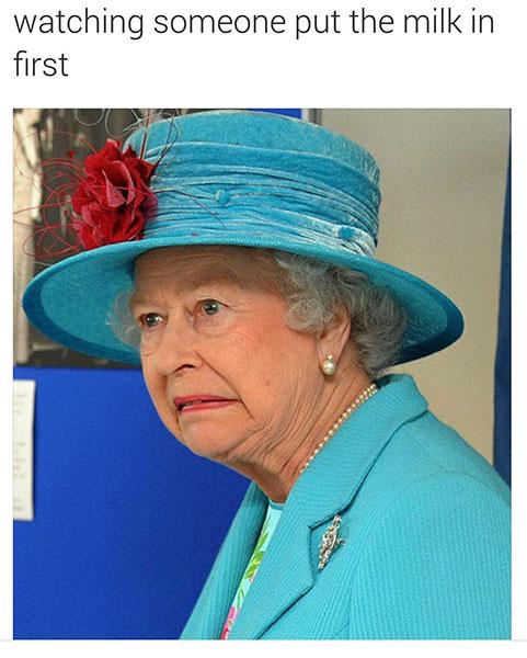 Queen tea