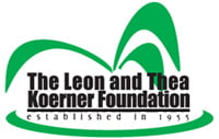 Leon and Thea Koerner Foundation Logo