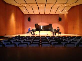 Piano Duo University of Michigan Britton Hall