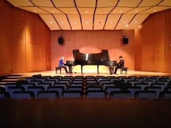 Piano Duo University of Michigan Britton Hall
