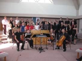 Choral Conducting Festival in Alberta, where I conducted the final movement of Vivaldi's Gloria, 2007