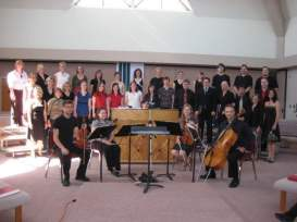 Choral Conducting Festival in Alberta, where I conducted the final movement of Vivaldi's Gloria, 2007