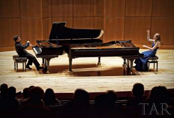 Piano Pinnacle Duo Concert August 2011 Vancouver, BC