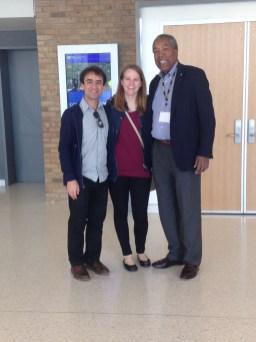 With Cellist/Conductor Anthony Elliott and Deborah Grimmett at University of Michigan School of Music