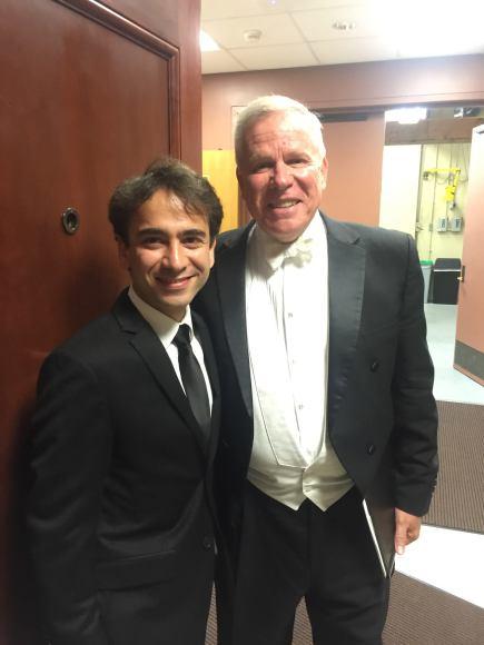 Jerry Blackstone and Iman Habibi