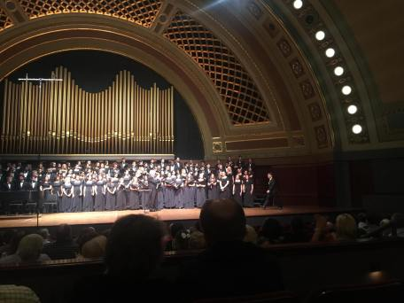 University of Michigan Chamber Choir at Hill Auditorium Iman Habibi