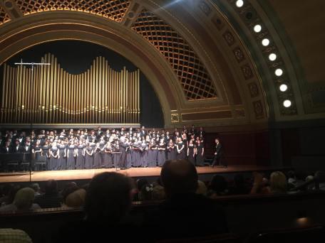 University of Michigan Chamber Choir at Hill Auditorium Iman Habibi