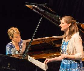 Pianist Jane Coop and Soprano Jane Long perform my song cycle, Silent Awakening, at Douglas College's Arts at One Series in New Westminster, BC - March 23rd, 2016
