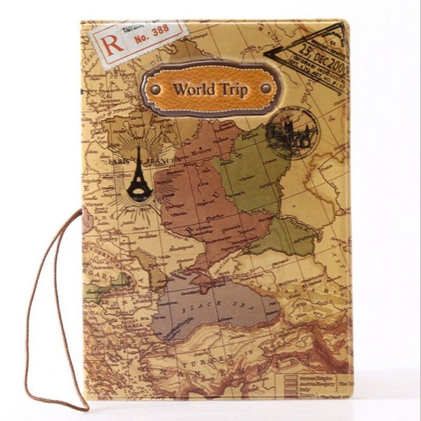 New 14cm x 9.6cm Passport Cover for Active Travellers Luggage & Travel Bags 2