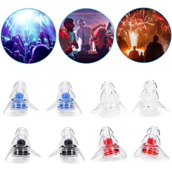 New 3-layer Earplug for Hearing Protection Beauty & Health 10