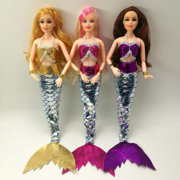 Mermaid Doll Dress and Accessories Toys 11
