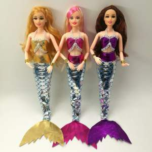 Mermaid Doll Dress and Accessories Toys 31