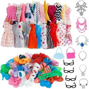 Doll Accessories Barbie Doll Clothes Toys 16