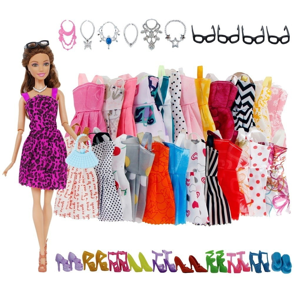 Doll Accessories Barbie Doll Clothes Toys 6