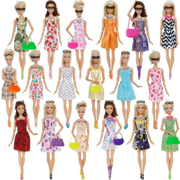 Doll Accessories Barbie Doll Clothes Toys 11