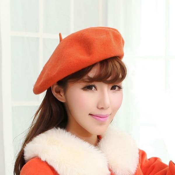 Beret Hat French Cap Women's Clothing & Accessories 4
