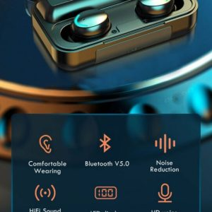 Latest Trendy Bluetooth Earphones with 9D HiFi Sound Effect Consumer Electronics 24