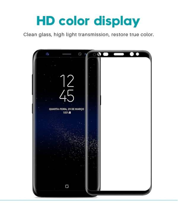 9D Tempered Glass Screen Protector for Samsung Smartphone 13