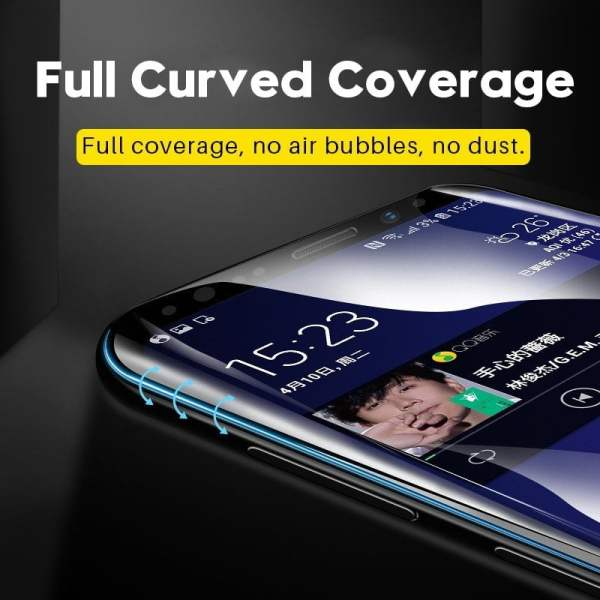 9D Tempered Glass Screen Protector for Samsung Smartphone 3