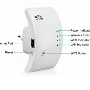 New 300Mbps Wireless WiFi Extender Consumer Electronics