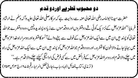 Do Mahboob Qatray Aur Do Qadam