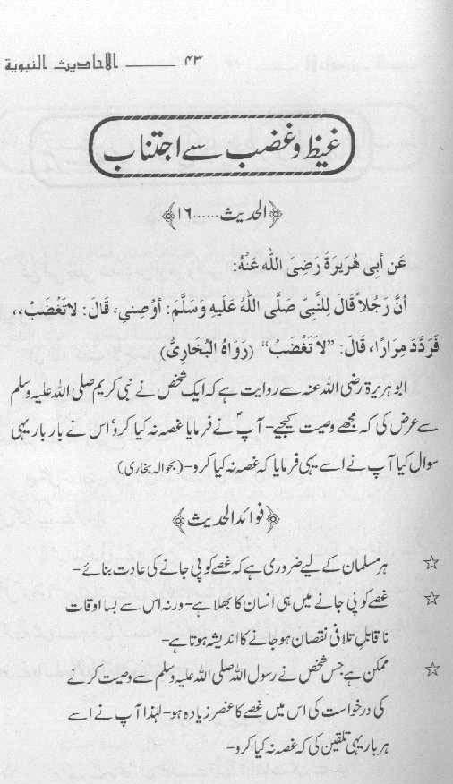 Guldasta-e-Ahadith