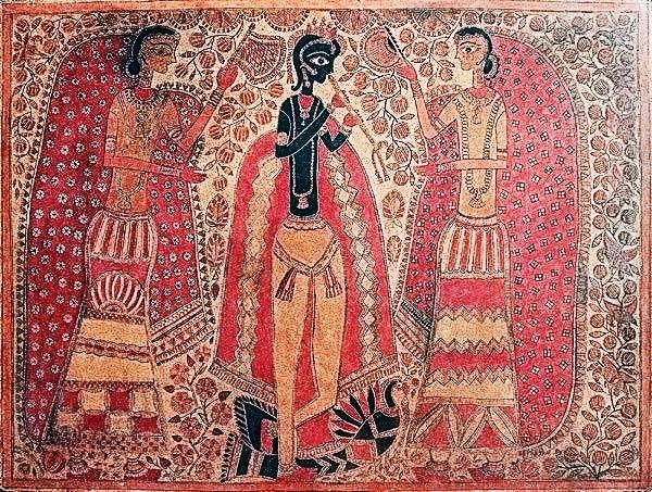 mithila-arts-of-radha-krishna