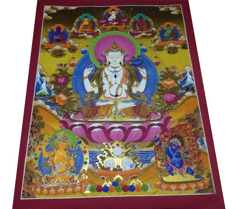chyangresi thangka | Thangka Paintings | buddhist thangka