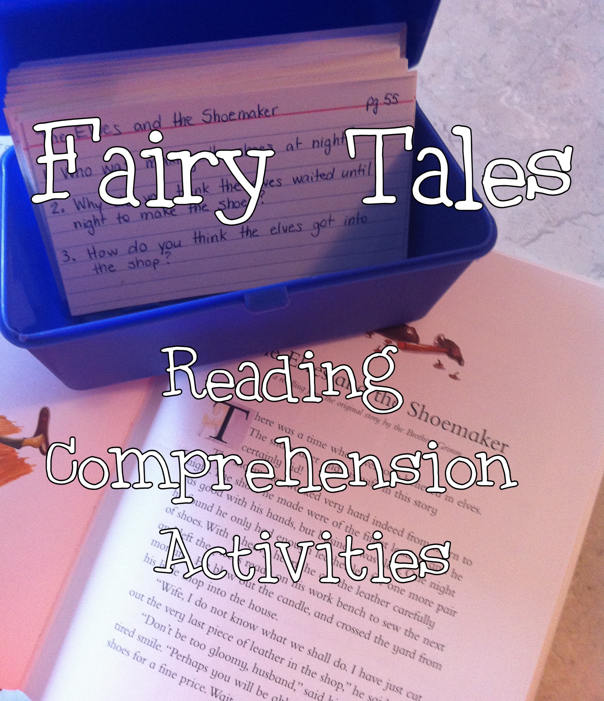 Fairy Tales Reading Comprehension Activities