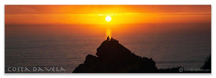 Ara  Solis Cabo Home,  Comprar fotografía de Galicia Paisaxes Galegas Posta de Sol en Cabo Home Decoración Natureza