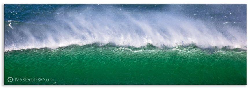 Ola Mar de Fora en Fisterra, Comprar fotografía de Galicia Playa de Mar de Fora Fisterra Paisaje Horizonte Mar Temporal  Decoración naturaleza