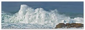 Ondas de Muxía, Comprar fotografía de Galicia Muxía Temporal Paisaxe Horizonte Mar Decoración natureza
