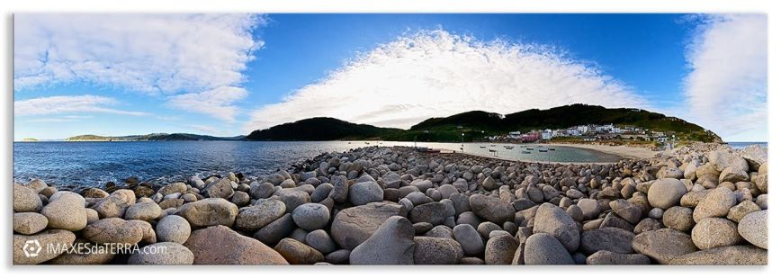 Espigón de Porto de Bares, Comprar fotografía de Galicia Porto de Bares Espigón Decoración naturaleza